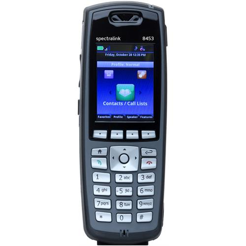 Spectralink 8453 handset without Lync support, Black
